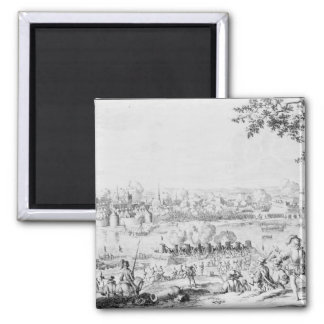 The Battle of Zutphen, 22nd September 1586 Square Magnet