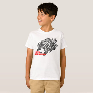 The Battle Ready Machines T-Shirt Second design