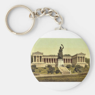 The Bavaria with Temple of Fame Munich Bavaria Keychain