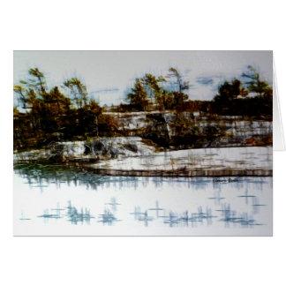 """The Bay"" landscape Card"