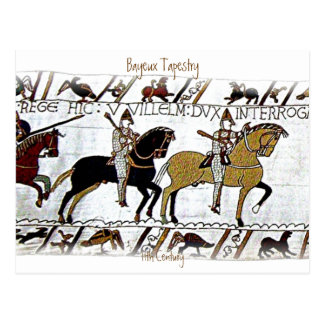The Bayeux Tapestry a4 Postcard