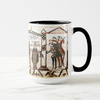 The Bayeux Tapestry: Coronation of Harold Mug