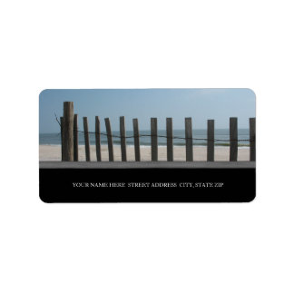 The Beach Address Labels
