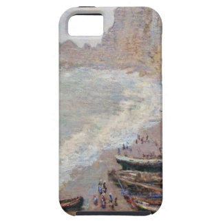 The Beach at Etretat - Claude Monet Case For The iPhone 5