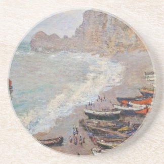 The Beach at Etretat - Claude Monet Coaster
