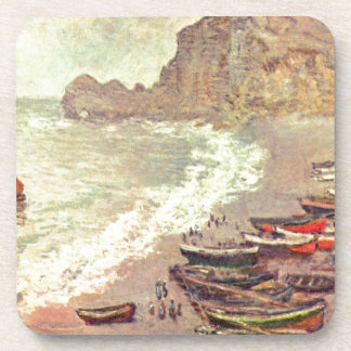 The Beach at Etretat - Claude Monet Coaster