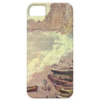 The Beach at Etretat - Claude Monet iPhone 5 Case