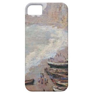The Beach at Etretat - Claude Monet iPhone 5 Cases