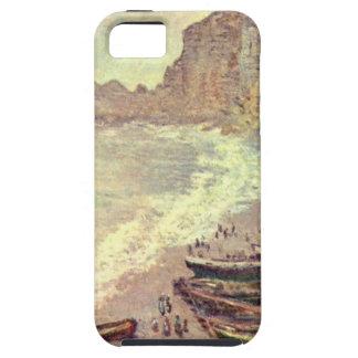 The Beach at Etretat - Claude Monet iPhone 5 Cover
