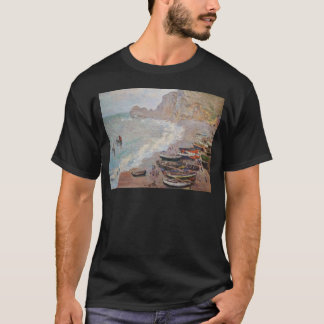 The Beach at Etretat - Claude Monet T-Shirt