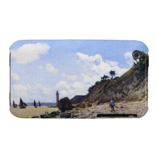 The Beach at Honfleur, 1865 Claude Monet iPhone 3 Cover