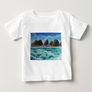 The Beach at Oceanside Baby T-Shirt