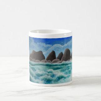 The Beach at Oceanside Coffee Mug