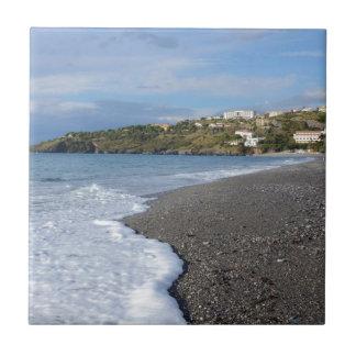The Beach At Scalea Tile