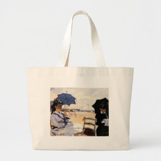 The Beach at Trouville Jumbo Tote Bag