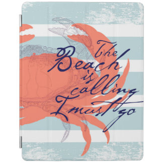 The Beach is Calling I Must Go iPad Cover