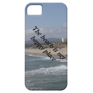 The beach is my happy place iPhone 5 cases