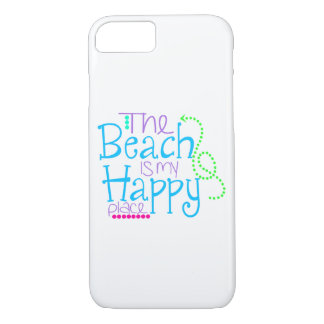 The Beach is my Happy Place Iphone 7 case