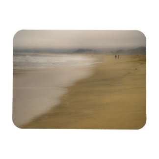 The Beach Rectangle Magnet