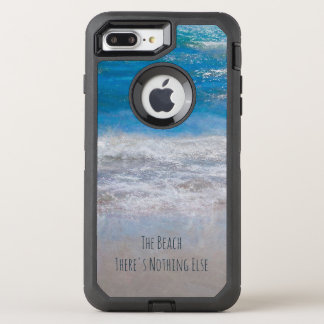The Beach, There's Nothing Else Photo Art OtterBox Defender iPhone 8 Plus/7 Plus Case