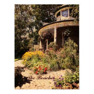 The Beaches, Gardener's house, Kew Garden postcard
