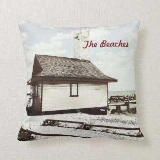 The Beaches, Toronto Throw Pillow