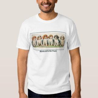 The Beagler's Six Pack Tshirt