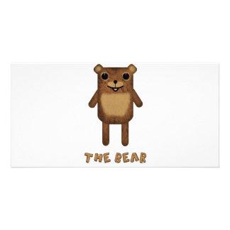 "The Bear from ""The Bear, The Cloud, And God"" Customized Photo Card"