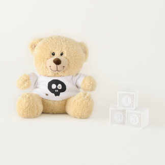 The bear which wears the damage T shirt