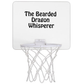 the bearded dragon whisperer mini basketball hoop