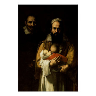 The Bearded Woman Breastfeeding, 1631 Poster