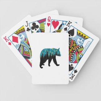 THE BEARS NIGHT BICYCLE PLAYING CARDS
