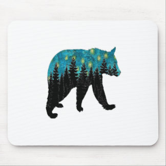 THE BEARS NIGHT MOUSE PAD