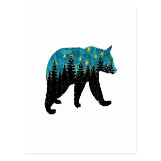 THE BEARS NIGHT POSTCARD