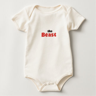 the beast baby bodysuit