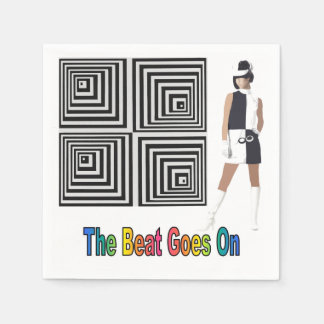 The Beat Goes On Disposable Napkin
