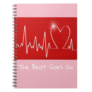 The Beat Goes On - Funny Post-Heart Attack Notebooks
