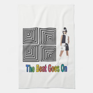 The Beat Goes On Tea Towel