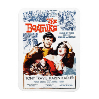 """The Beatniks"" Magnet"