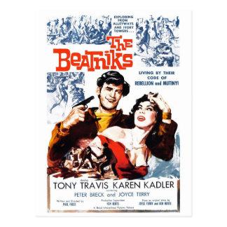 """The Beatniks"" Postcard"