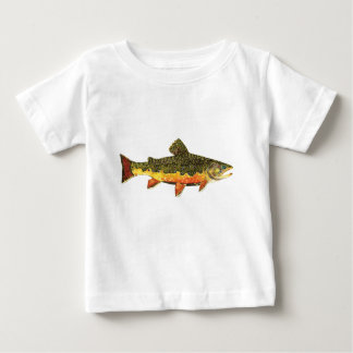 The Beautiful Brook Trout Baby T-Shirt