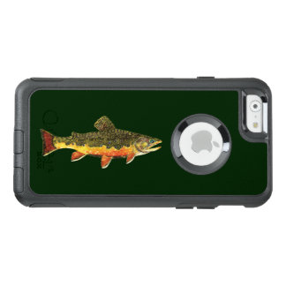 The Beautiful Brook Trout Fisherman's OtterBox iPhone 6/6s Case