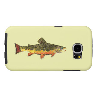 The Beautiful Brook Trout Fisherman's Samsung Galaxy S6 Cases