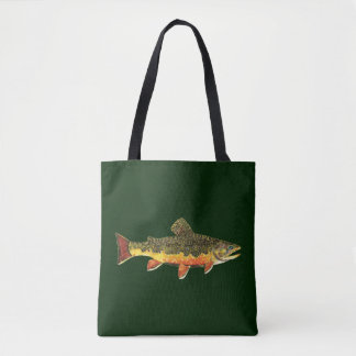 The Beautiful Brook Trout Tote Bag