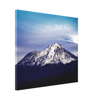 The Beautiful Majestic Mt. Shasta Canvas Print