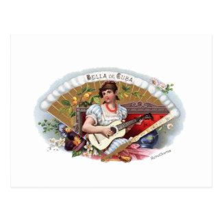 The Beautiful one of Cuban Vintage Cuba Postcard