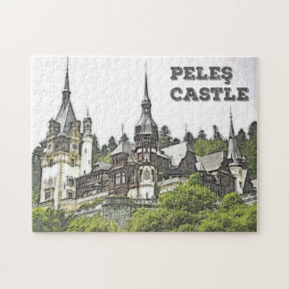 The Beautiful Peles Castle Jigsaw Puzzle