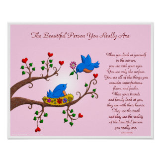 The Beautiful Person You Really Are Poster