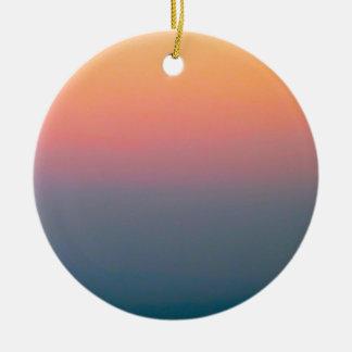 The Beautiful Sky Ceramic Ornament