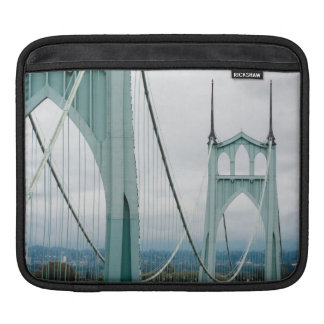 The beautiful St. John's Bridge iPad Sleeve